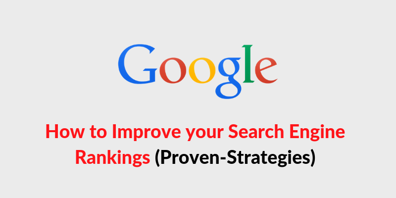 how to increase google search engine rankings in 2019