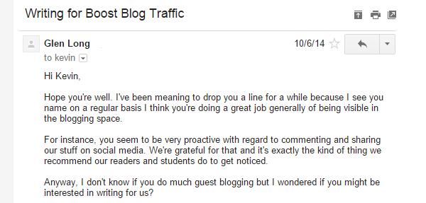 guest blog requests