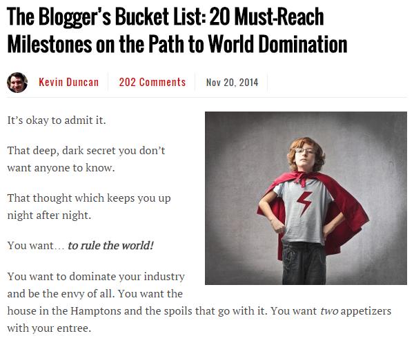 guest blogs published