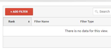 add filter Google Analytics