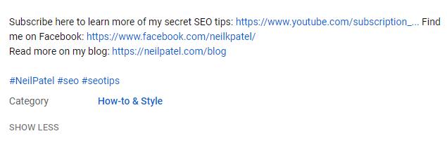 description link