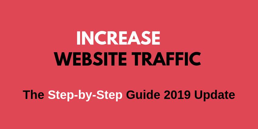 increase website traffic organic