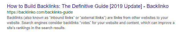 meta description backlinko