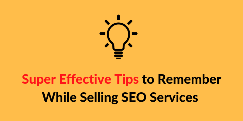 selling seo services tips