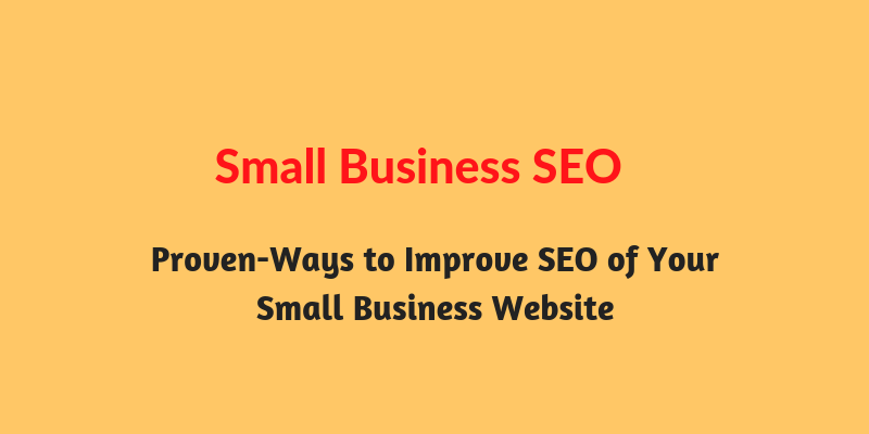 way to do small business seo