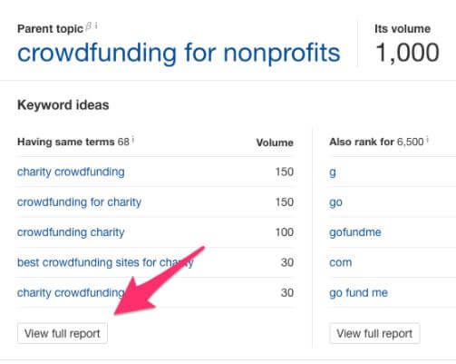 Non Profit Crowdfunding