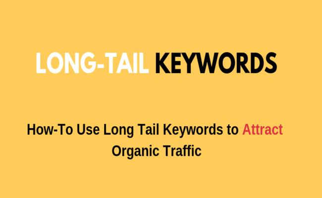 long tail keywords to increase traffic