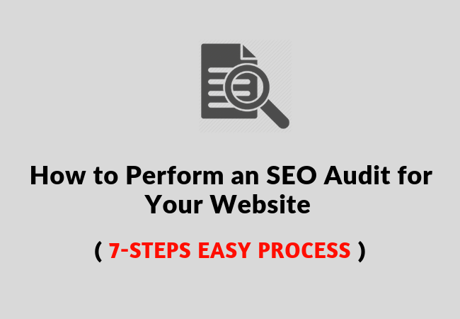 technical SEO website audit