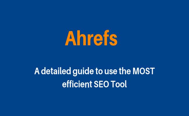 ahrefs guide
