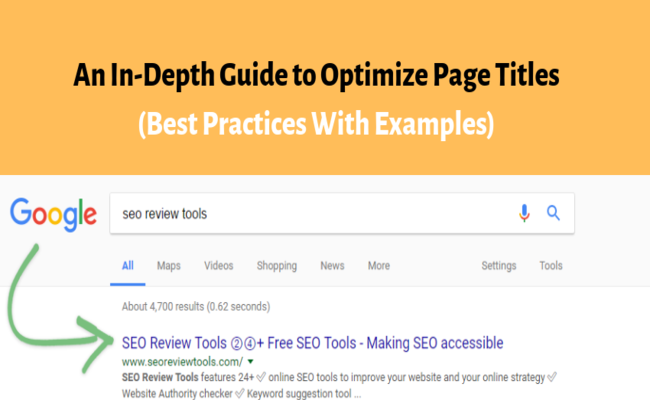 page title optimization guide
