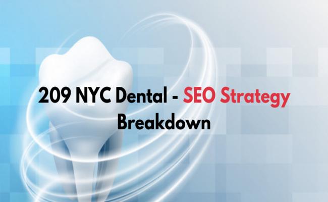 dental seo strategies