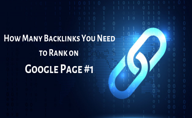 how many backlinks