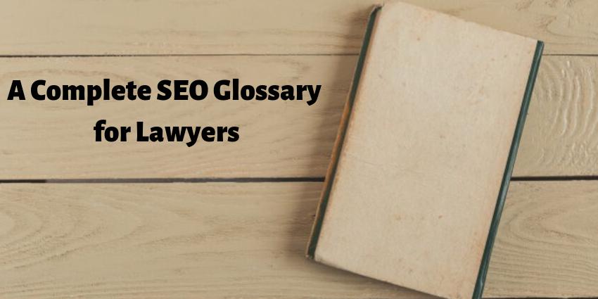 lawyer seo glossary
