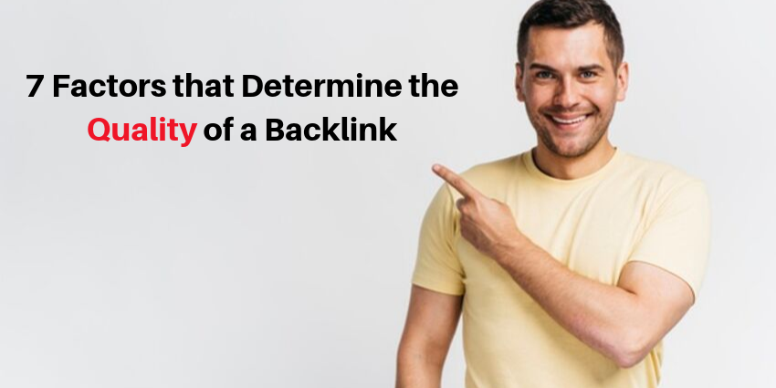 Quality of Backlink
